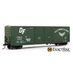 HO Scale: Gunderson 5200 Box Car - GM&O