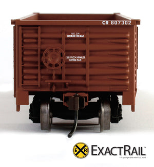 X - Gunderson 2420 Gondola : CR - ExactRail Model Trains - 2
