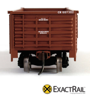 X - Gunderson 2420 Gondola : CR - ExactRail Model Trains - 3