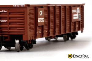 X - Gunderson 2420 Gondola : CR - ExactRail Model Trains - 4