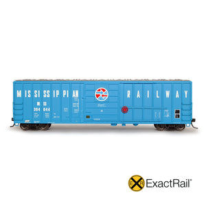 HO Scale: Evans 5277 Boxcar - Mississippian Railway