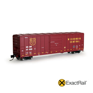 N Scale: Evans 5277 Boxcar - Sault Ste Marie Bridge Co.