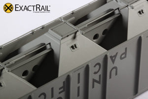 PS-2CD 4427 Covered Hopper : UP - ExactRail Model Trains - 6