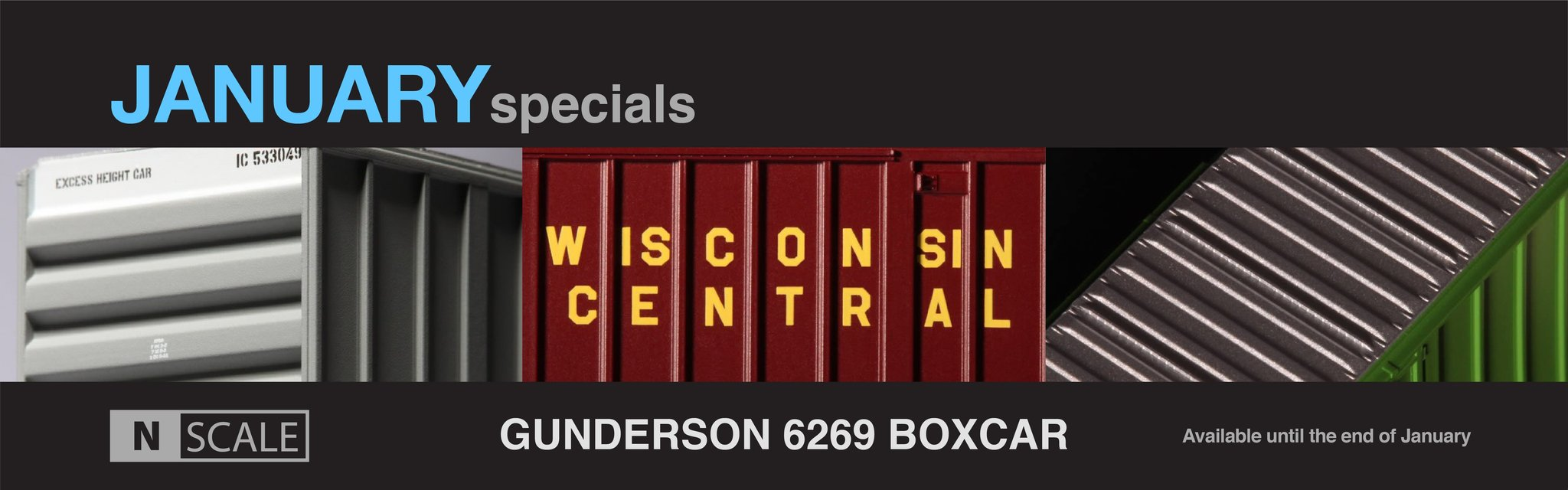 N Scale February Specials