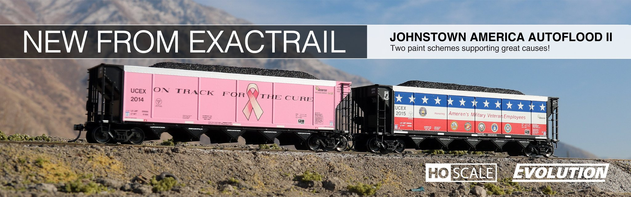 exactrail.com p-s 7315 waffle boxcar announcement page