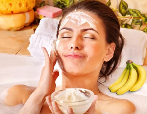 Maskmonday Milk And Banana For Glowing Skin Scalisiskincare