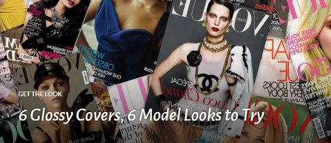 6 Glossy Covers, 6 Model Looks to Try