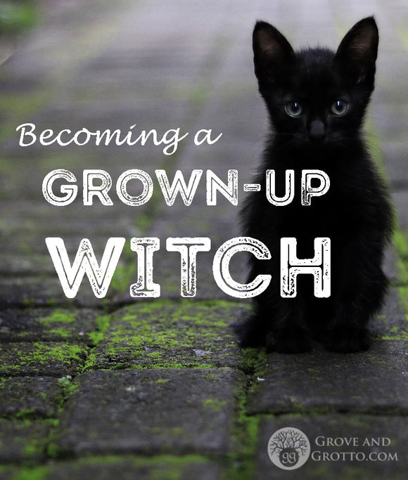 Becoming a grown-up Witch