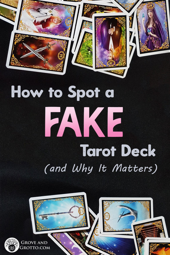 How to spot a fake Tarot deck (and why it matters)