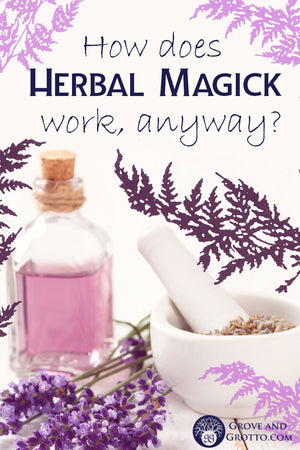 How does herbal magick work, anyway? Four theories