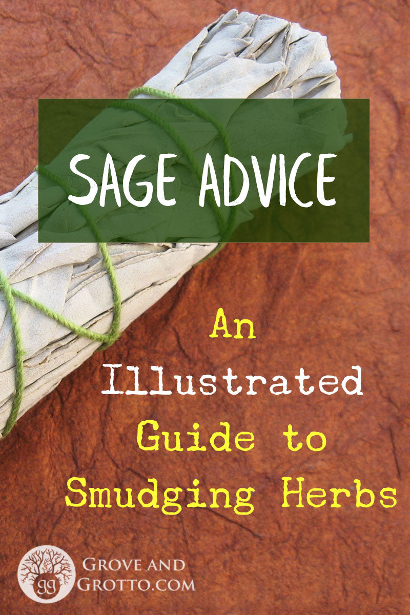 Sage advice: An illustrated guide to smudging herbs – Grove