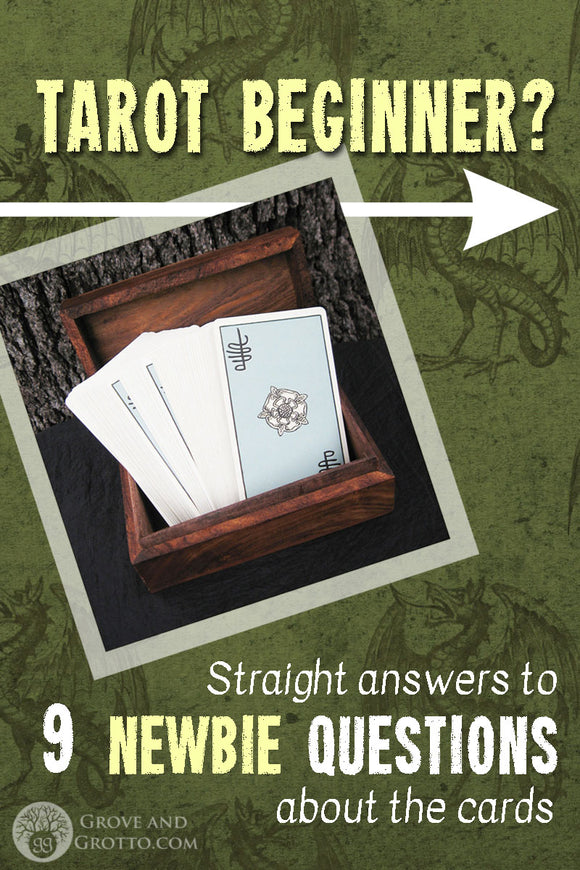 Tarot beginner? Straight answers to 9 newbie questions about the cards