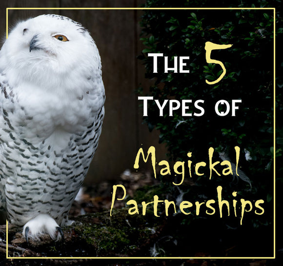 The five types of magickal partnerships