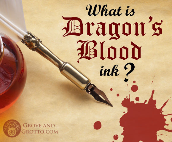 What is Dragon's Blood ink?
