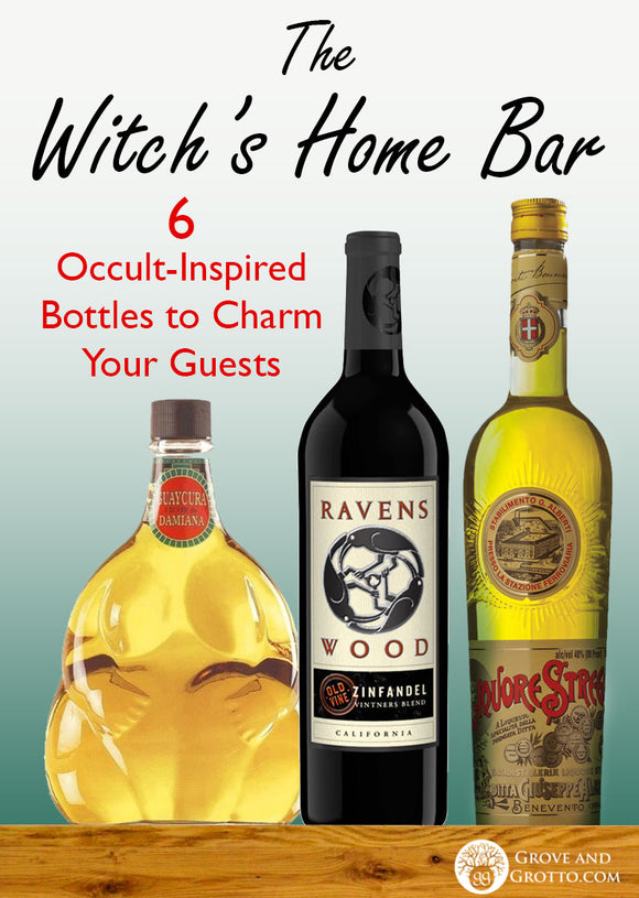 The witch's home bar: 6 occult-inspired bottles to charm your guests