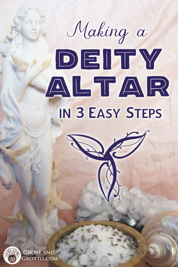 Making a deity altar