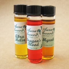 Aura Accord Oils trio