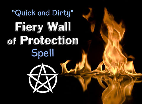 Fiery Wall of Protection Spell