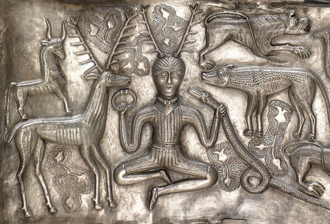 Cernunnos on the Gundestrop cauldron