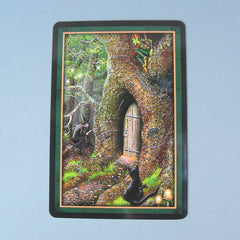 Faery Forest oracle card back image