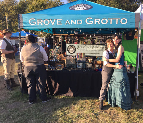 Grove and Grotto at Steampunk November 2016