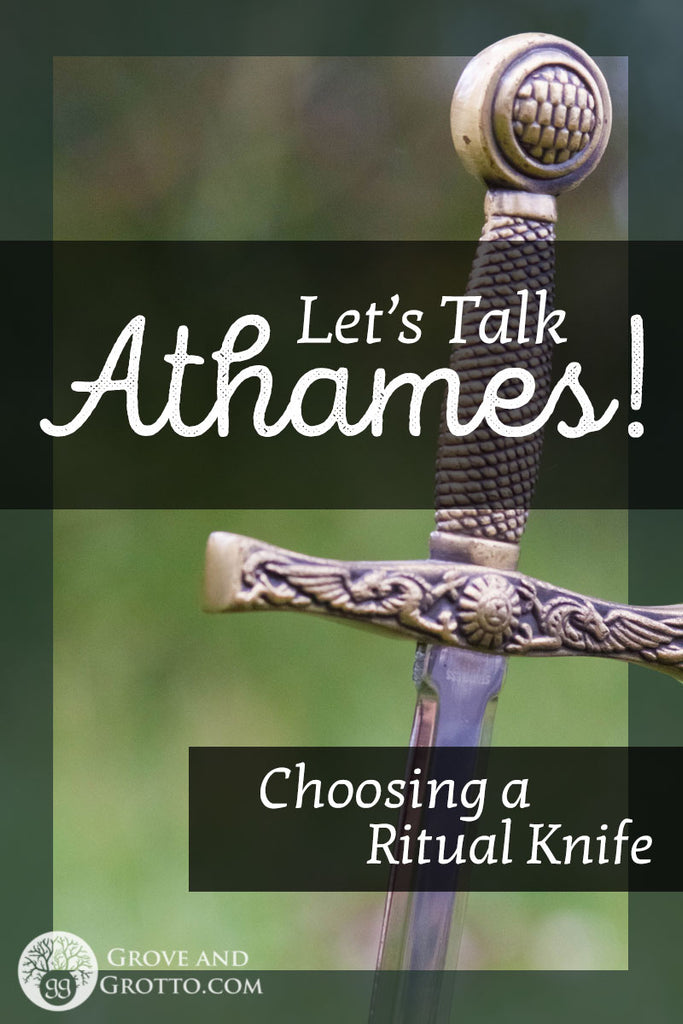 Let's talk athames! Choosing a ritual knife – Grove and Grotto
