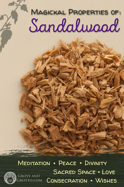 Magickal properties of Sandalwood – Grove and Grotto