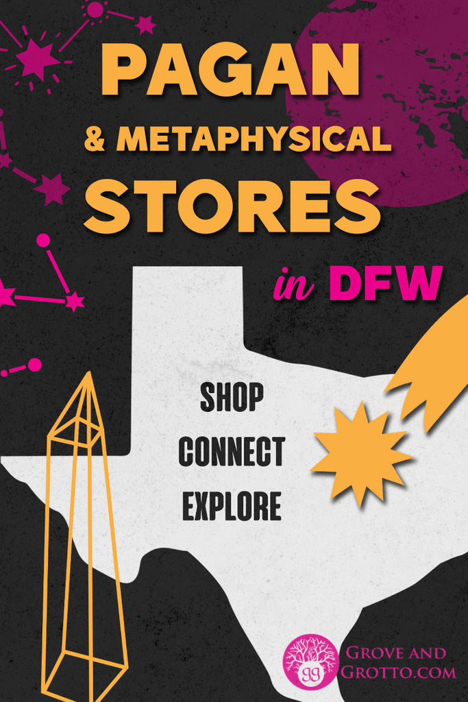 Pagan and metaphysical stores in DFW