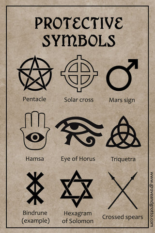 magickal symbols of protection � grove and grotto