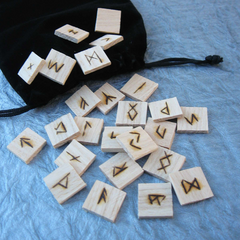Ash tile runes by DragonOak