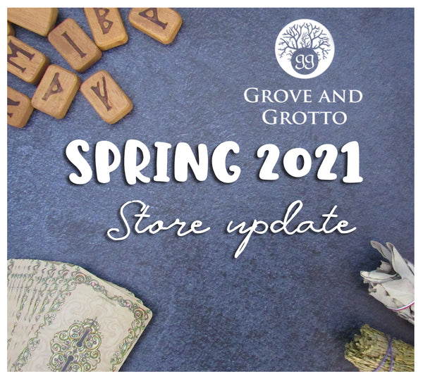 Grove and Grotto Spring 2021 update