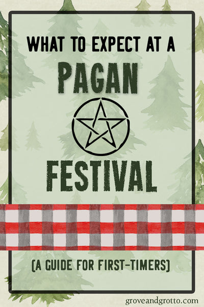 What to expect at a Pagan festival – Grove and Grotto