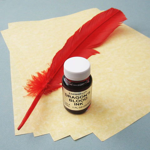 Dragon's Blood Spell Writing Kit