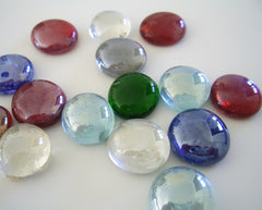 Glass gems waiting to become runes