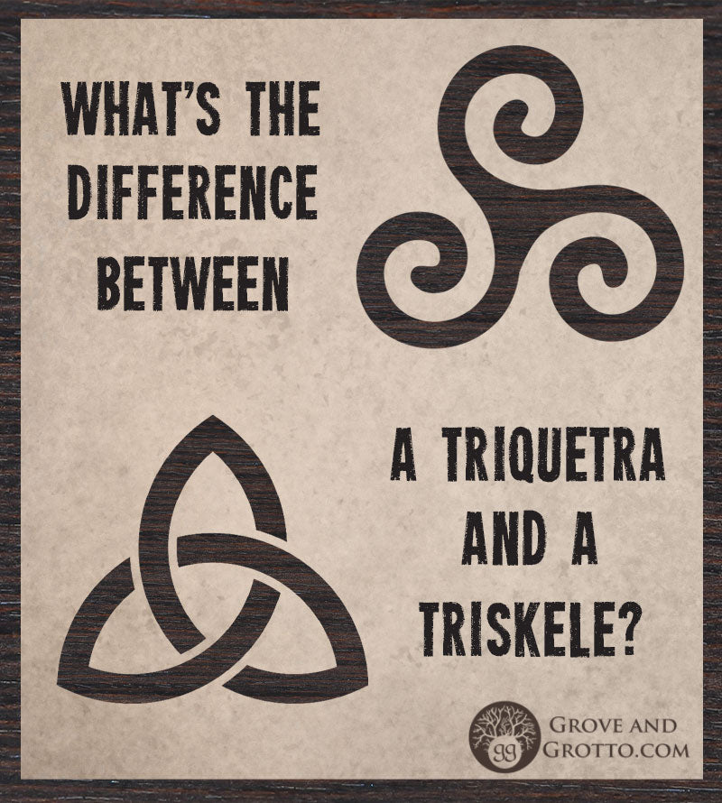 What's the difference between a triquetra and a triskele? – Grove