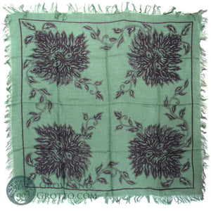 "Four Quarters Green Man Altar Cloth 36"" - Grove and Grotto"