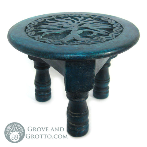 Tree of Life Mini Altar Table 6""