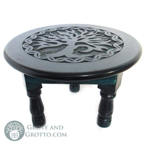 "Tree of Life Altar Table 12"" - Grove and Grotto"