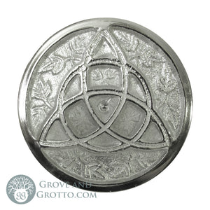 "Triquetra Altar Tile 3"" - Grove and Grotto"