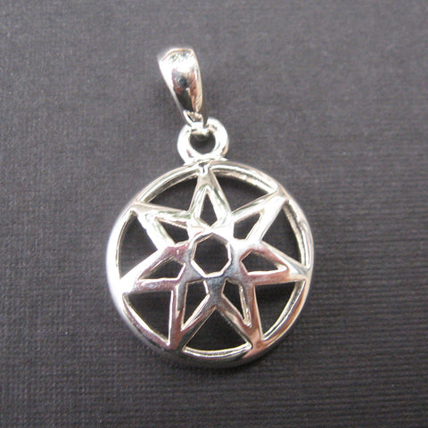 Sterling Silver Faery Star .5""