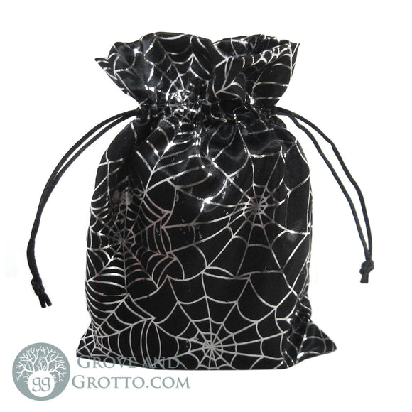 Spider Satin Bag 6x8