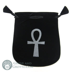 Ankh Velveteen Bag - Grove and Grotto
