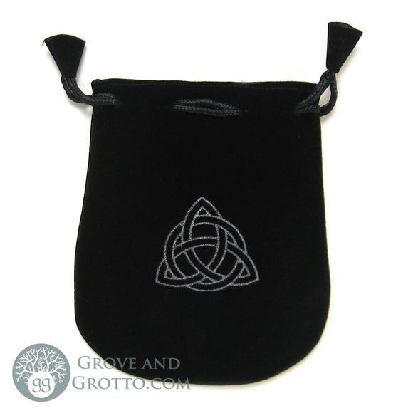 Triquetra Velveteen Bag - Grove and Grotto