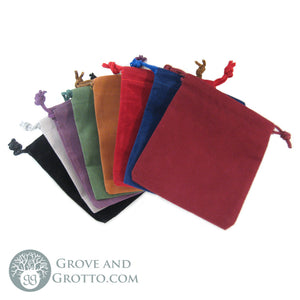 Velveteen Mojo Bags (Set of 8 Colors) - Grove and Grotto