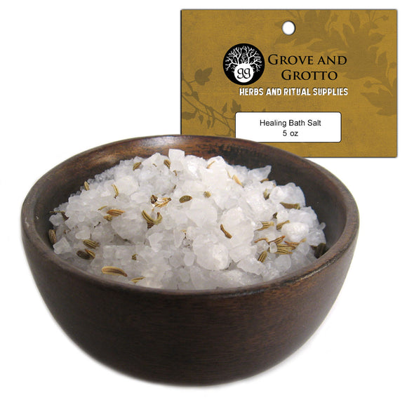 Healing Bath Salt (5 oz) - Grove and Grotto