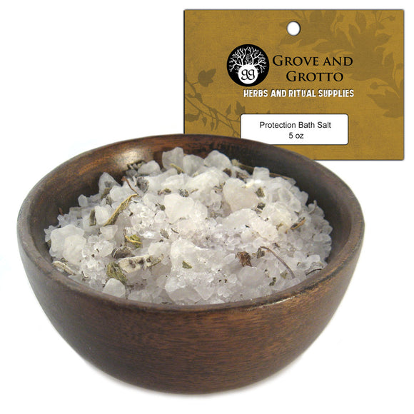 Protection Bath Salt (5 oz) - Grove and Grotto
