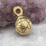 Brass Pentagram Mini Bell