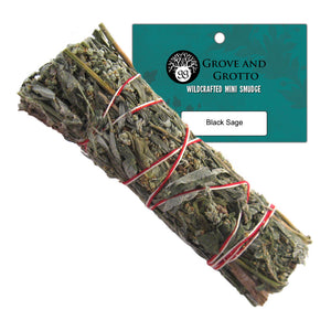 Black Sage Smudge (Medium) - Grove and Grotto