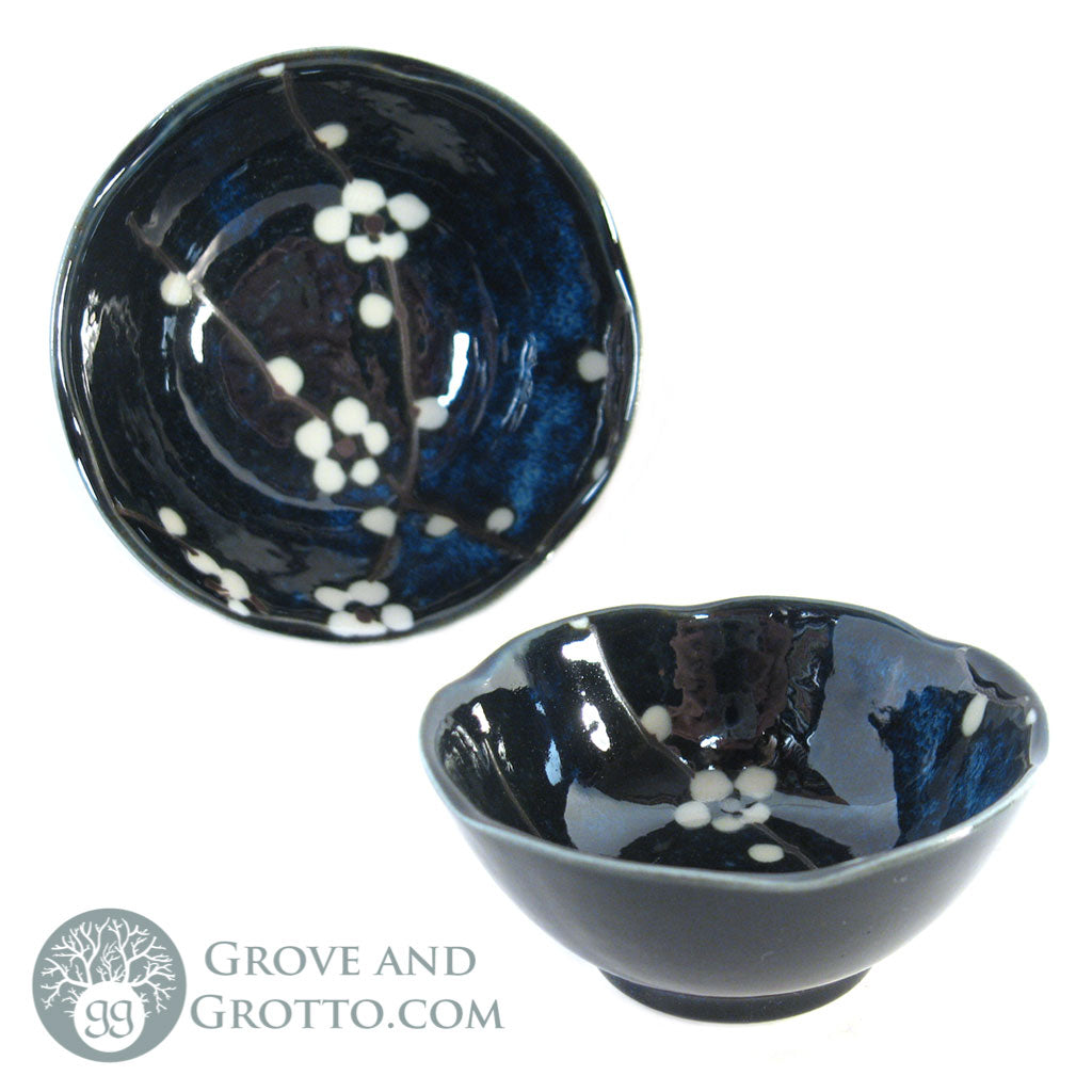 "Cherry Blossom Ceramic Dish 3.5"" - Grove and Grotto"