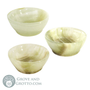 "Carved Onyx Bowl 2"" - Grove and Grotto"